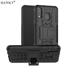 For Samsung Galaxy M20 Case Armor Shell Hard Rubber Silicon PC Cover for Phone