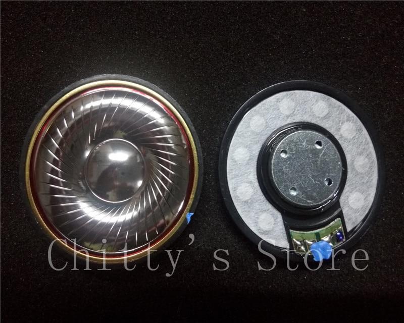 50mm speaker unit  Plated beryllium unit High Analyze 32ohms/300ohms 1pair=2pcs диски helo he844 chrome plated r20