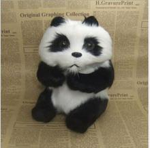 WYZHY New Year Creative Gifts Simulation Fur Animal Panda Sex Friends Children  16CMX15CMX21CM