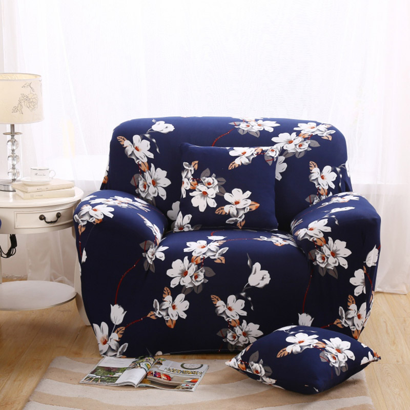 Drawing Room Furniture Protector Sofa Cover Polyester Spandex Fabric  Slipcovers Single/Two/Three/