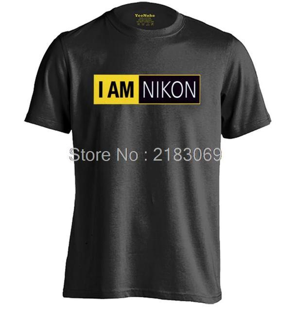 Estoy NIKON Para Hombre y Para Mujer de Impresión Camiseta Ocasional