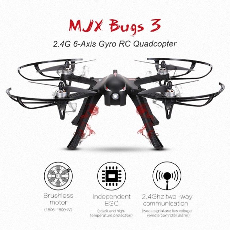 Professionale Drone MJX Bugs 3 B3 Quadcopter Brushless RC Elicottero Con 4 k/1080 p Wifi HD Macchina Fotografica in Grado di carry Gopro/Xiaomi/Eken H9