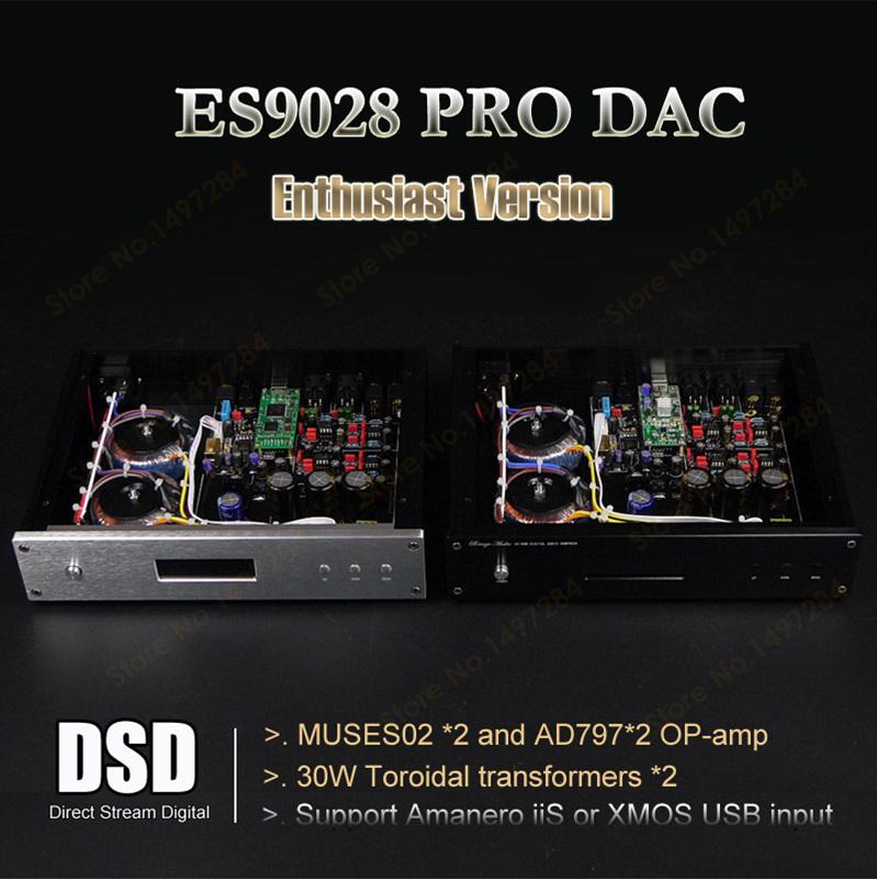 Prix pour TOP ES9028 ES9028PRO + MUSES8920 * 2 + AD797 * 2 DAC Décodeur Soutien XMOS XU208/Amanero I2S au-delà ES9018/AK4497 DAC