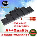 Wholesales  NEW Laptop Battery For Apple MacBook Pro 15  A1417 A1398 (2012 YEAR ) MC975 MC976