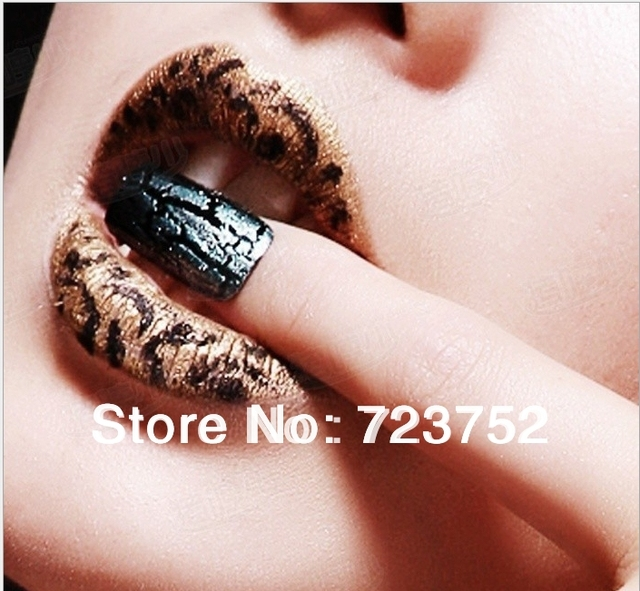 New Arrival Crackle Nail Polish Golden Shatter Nail Art Polish For