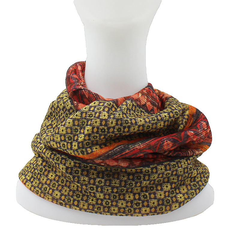 CAPSHOP Brand Autumn And Winter Dual-use  Vintage Design Hats For Ladies thin Skullies And Beanies Women Scarf Face Mask HT015 5