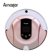 Arnagar Q1 Vacuum Cleaner Smart Sweeping Rechargeable Robot Vacuum Cleaner Remote Controlled Automatic Dust Home Robot Cleaner