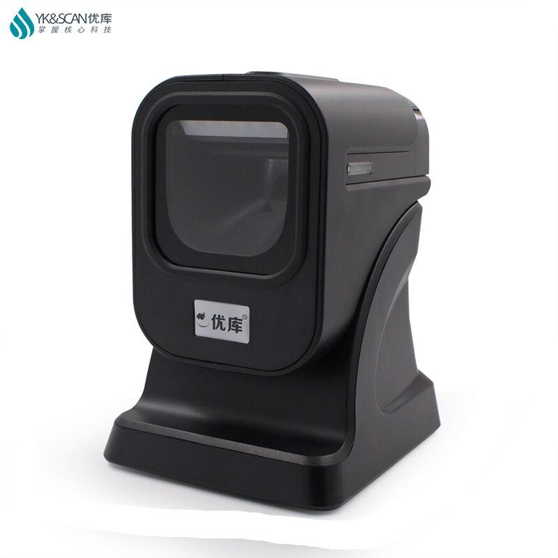 1D/2D/QR Best presentation scanner Omni directional Barcode Scanner PDF417 QR 1D GS1 Datamatrix pharma alcohol cigarette codes