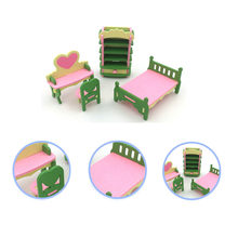 Creative Simulation Furniture Washing Machine Kitchen Assembling Building Blocks Children DIY Early Education Educational Toys(China)