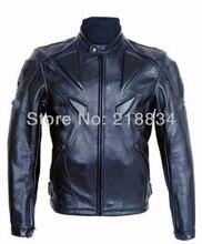 Hot sales Men PU jacket professional racing jacket motorcycle jacket motorcycle delivery 5 sets of protective gear