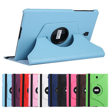 360 Rotating Litchi Style Leather Cover Case For Samsung Galaxy Tab A 10.5 T590 T595 SM-T590 Folding Stand Flip Cover for T590