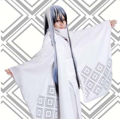 Nurarihyon no Mago Anime Oikawa Tsurara cosplay white kimono cos Halloween  party uniform bathrobe clothing