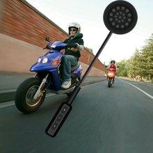 Bluetooth 4.0 Moto Casco Del Motociclo Auricolare Citofono Intercom FM Altoparlante
