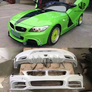 E89 Z4 FRP Unpainted Car body kit Front Rear Bumper For BMW E89 Z4 Rowen Style Body Kit 2009-2014