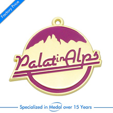 Promotional Custom  Sport Run Award Medal high quality gold plating metal medals