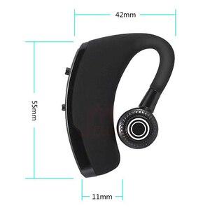 Image 5 - MEUYAG 2019 New V9 Wireless Bluetooth Earphone Car Handsfree Business Headset with Mic Ear hook Earpiece for iPhone Samsung