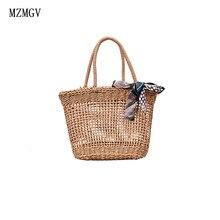 Straw bag high quality designer fashion Messenger shoulder female summer Bohemia fishnet handbag lady