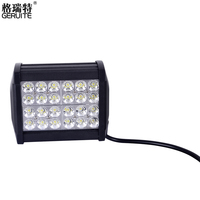 8pcs 72W 24 3W Waterproof Cree LED Work Light For Indicators Offroad Boat Car Driving SUV