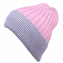 Saufuo Winter Hats for Women Men knitted wool beanies skullies casual cap