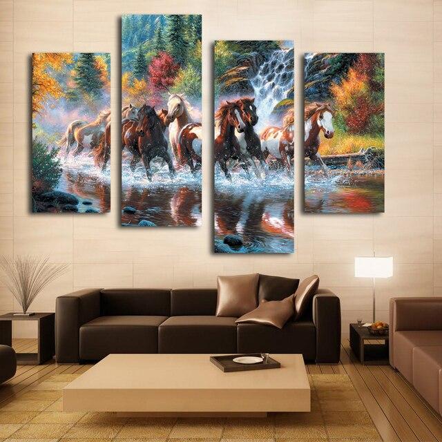 aliexpress koop nice woonkamer wanddecoratie art mooie paard