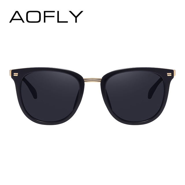 AOFLY Fashion Women's Polarized Sunglasses Vintage  Women Brand Designer Shades Eyewear Accessories Driving Sun Glasses AF7968 2