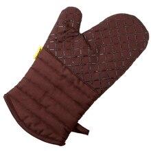 Бесплатная доставка Америка/Европейский сертифицированных тепловой защиты силиконовые & хлопок утолщенной защитные перчатки микроволновая печь выпечки перчатки