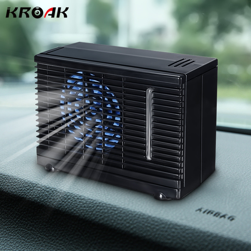 Kroak 12 24v 60w Portable Mini Home Car Cooler Cooling Fan