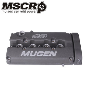 Image 3 - MUGEN GUNMETAL מנוע שסתום כיסוי עבור B16 B18 אקורה Integra GSR DOHC VTEC