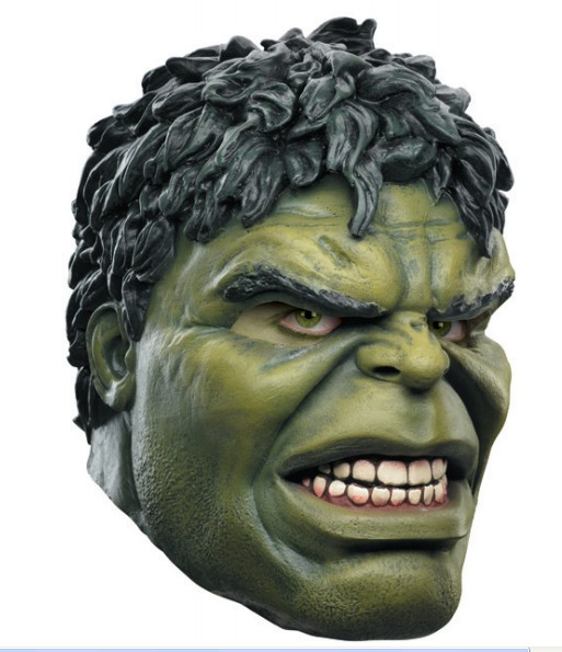 The Avengers 2: Age of Ultron Hulk mask Latex mask Halloween dance cosplay mask