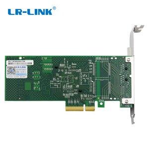 Image 3 - LR LINK 9722PT Dual Port Gigabit Ethernet Network Adapter 1Gb RJ45 PCI Express Lan Network Card Intel I350 T2 Compatible NIC