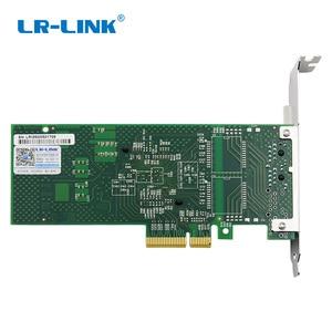 Image 3 - LR LINK 9722PT Çift Bağlantı Noktalı Gigabit Ethernet Ağ Adaptörü 1 Gb RJ45 Pci express Lan Ağ Kartı Intel I350 T2 Uyumlu NIC