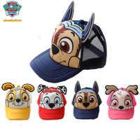 2019 oryginalna PAW Patrol bawełna słodkie dzieci kapelusze letnie czapki nakrycia głowy Chapeau odcisk szczeniaka Party Kids Birthday Gift toy