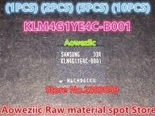 Aoweziic (1 UNIDS) (2 UNIDS) (5 UNIDS) (10 UNIDS) 100% Nueva original KLM4G1YE4C-B001 BGA chip de Memoria KLM4G1YE4C B001