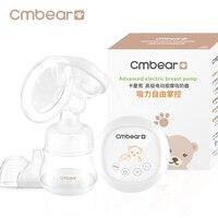Cmbear הנקה שד משאבות יניקה גדולה חומר PP מתקדם USB עיסוי אוטומטי משאבת חלב חשמלית עם בקבוק