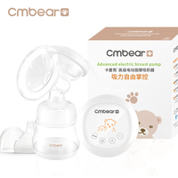 Cmbear Breast Pumps Large Suction PP Material Breast Feeding Advanced Automatic Massage USB Electric Breast Pump