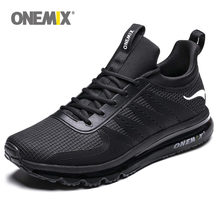 ONEMIX Men Running Shoes Fashion Casual Outdoor Jogging Air Cushioning Gym Fitness Sneakers Max 12(China)