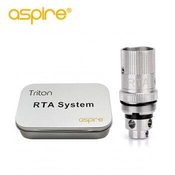 Aspire Triton RTA System Coil Electronic cigarette DIY Adjustable Resistance 0.3-0.9ohm Coils for E cigarette Triton Atomizer