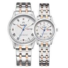 Masculina Y Femenina Modelos de Relojes Reloj de Cuarzo Temperamento Moda Casual Impermeable Reloj de Pulsera Con Calendario Semana Amantes Relojes
