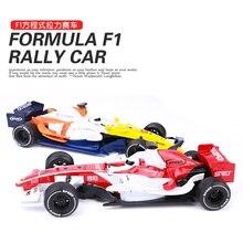 1: 32 f1 формула ралли сплава модели автомобиля звук и свет отступить Дети автомобилей Игрушечные лошадки