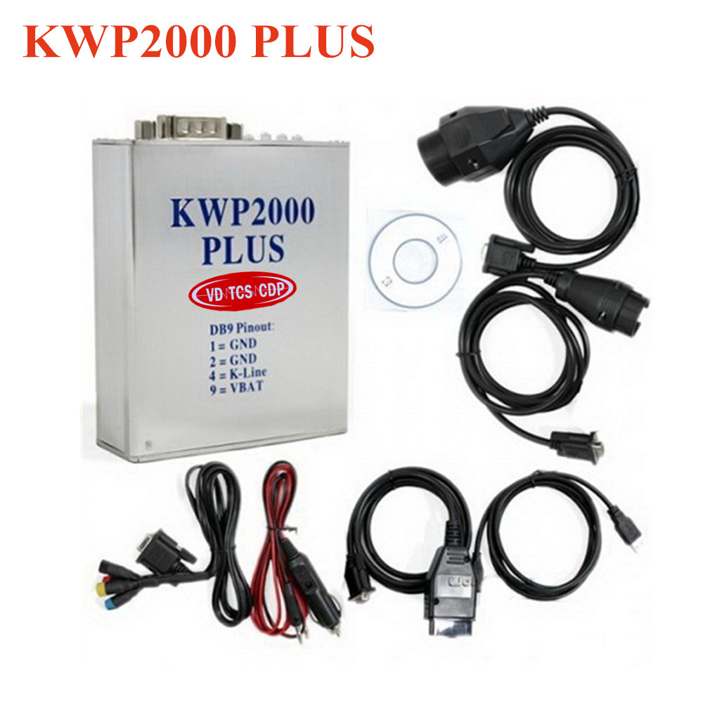 2017 Freeshipping KWP2000 Plus ECU REMAP Flasher KWP 2000 OBD OBD2 Chip Tunning ECU