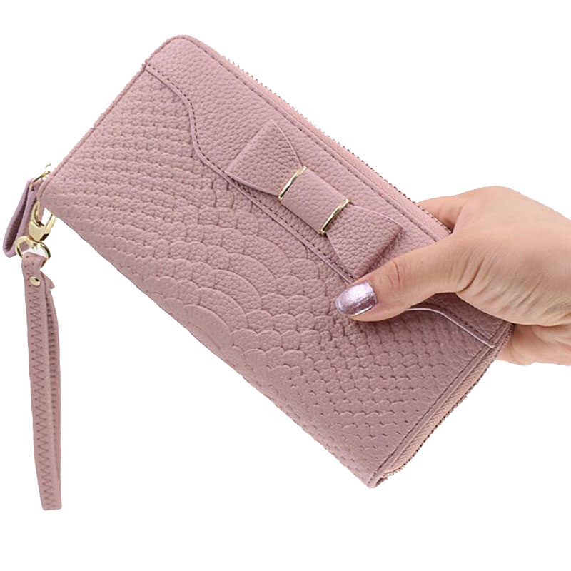 2018 New Wallet For Women Wallet Long Lovely Pu Leather For Women Purse Female Coin Card Clutch Big Capacity For Women Purse Wom 2018 women wallet new pu women long wallet purse crocodile pattern female wallet purse fashion girl wallet portefeuille femme