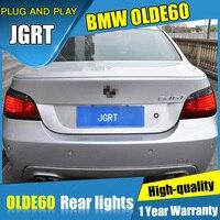 4 шт. Автомобиль Стайлинг для BMW E60 задние фонари 2004 2010 для E60 светодиодный задний фонарь + поворотник + тормоза + обратный светодиодный свет