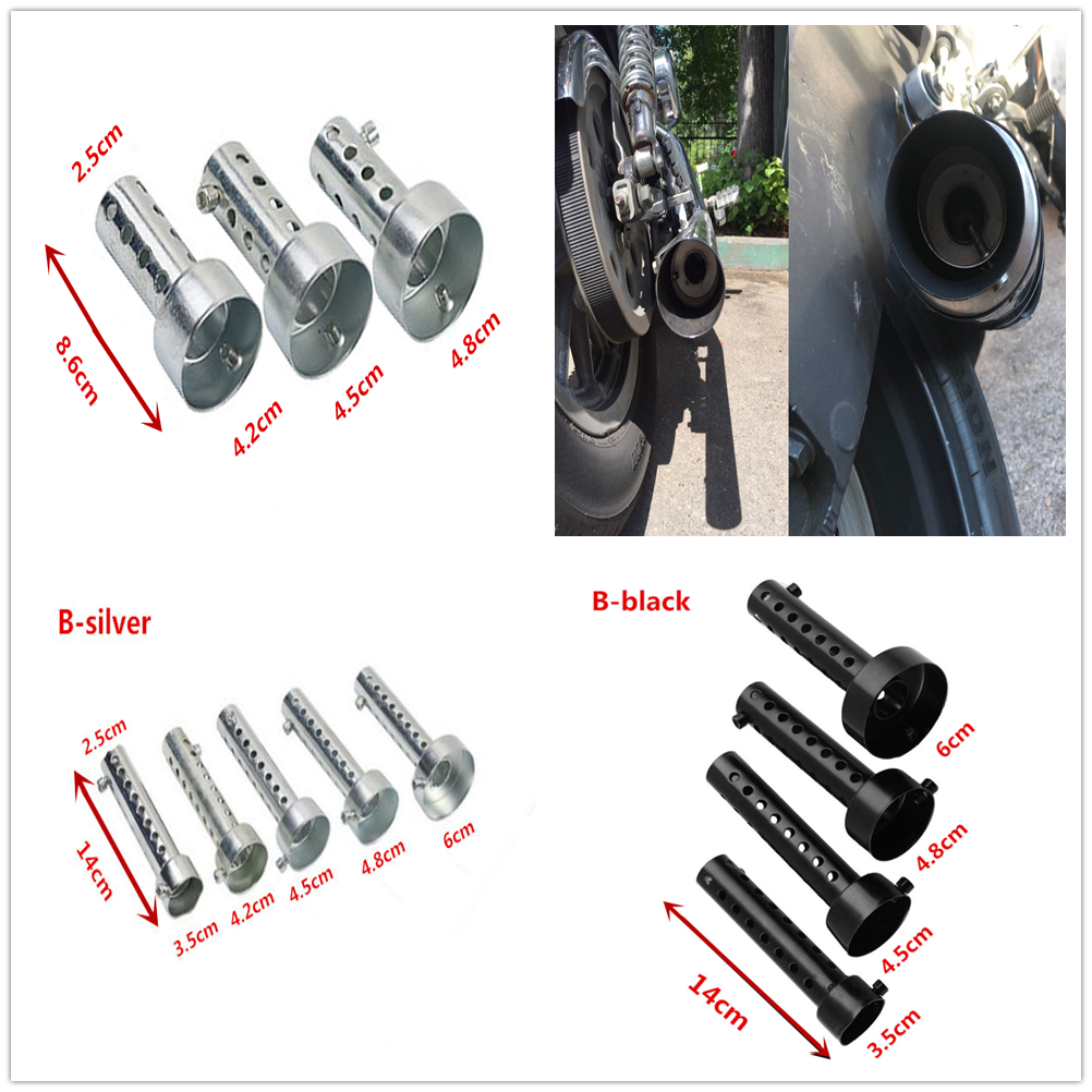 new Motorcycle <font><b>Exhaust</b></font> Muffler DB Killer Silencer Sound for <font><b>Kawasaki</b></font> ZZR600 Z900 Z650 VERSYS 1000 VULCAN S 650cc <font><b>Z750</b></font> Z750S image