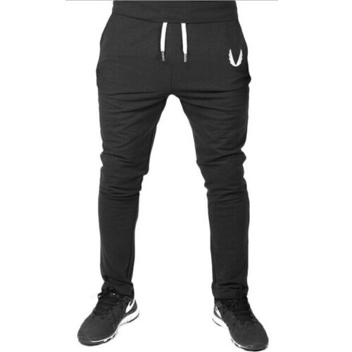 Meihuida 2019 Men Casual Long Sport Pants Gym Slim Fit Trousers Running Joggers Gym Sweatpants