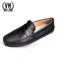 European luxury leather shoes Doug station sets foot tide daily leisure shoes 45 yards of shoes code driving