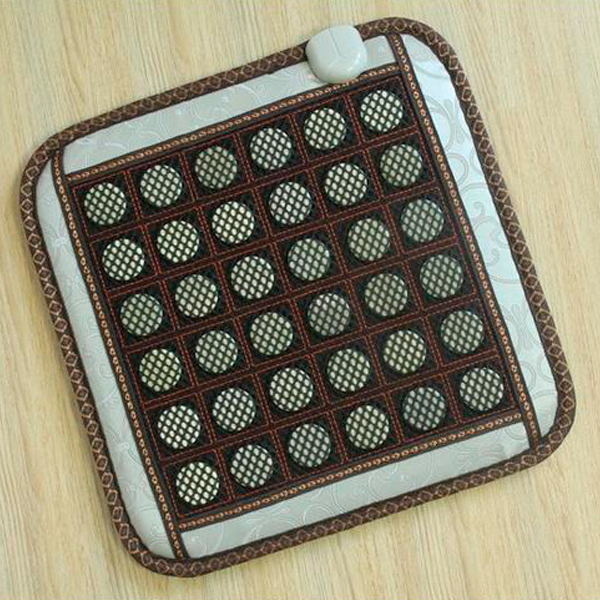 Wholesale Health Products Germanium Cushion Electric Heating Cushion Tourmaline Health Seat Cushion 45X45CM Free Shipping 2015 health care product electric heating tourmaline health products 45 45cm
