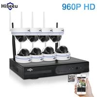 Hiseeu 8CH 960P HD Wireless IP Camera CCTV System Wireless NVR IR CUT Bullet CCTV Camera
