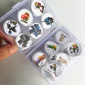 Coin-Nfc Link's Awakening Amiibo-Card Zelda-Collection Data Legend Wii-U Ntag215 The