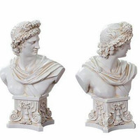Greek Mythology Bright God Apollo Creative Plaster Resin Sculpture Model Sketch From Nature Action Figure Collection Toy G711