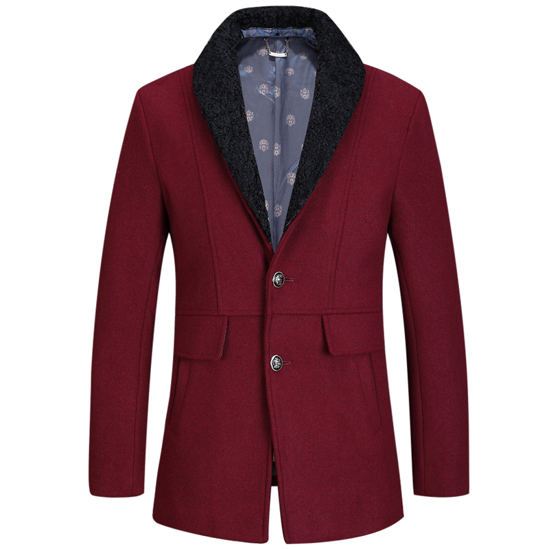 2017 sell like hot cakes Winter men trench coat lapel men collar fitted coat windbreaker men coat 190